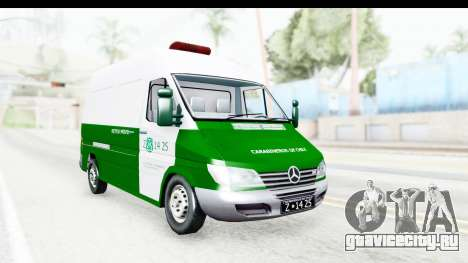 Mercedes-Benz Sprinter Carabineros de Chile для GTA San Andreas