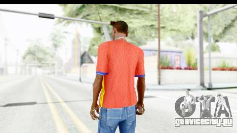 Spain Home Kit 2016 для GTA San Andreas третий скриншот