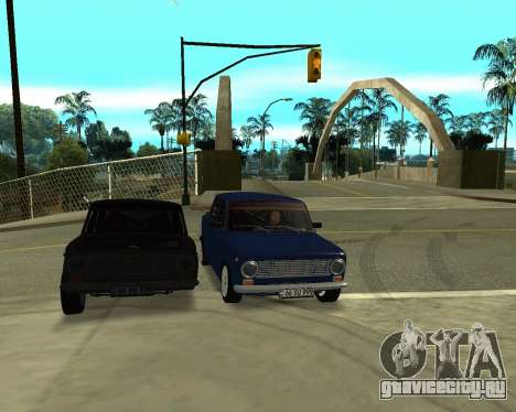 ВАЗ 2101 Армения для GTA San Andreas колёса