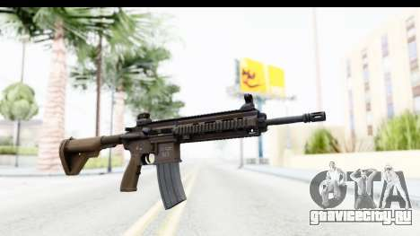 Heckler & Koch HK416 для GTA San Andreas