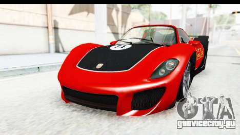 GTA 5 Pfister 811 SA Lights для GTA San Andreas вид сбоку
