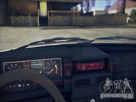 Ваз 21099 LT для GTA San Andreas вид справа