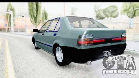 Renault 19 RE для GTA San Andreas вид слева