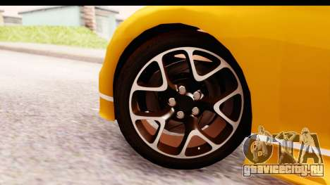 Bugatti Chiron 2017 v2.0 Updated для GTA San Andreas вид сзади слева