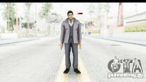 Yakuza 5 Kazuma Kiryu Fukuoka для GTA San Andreas второй скриншот