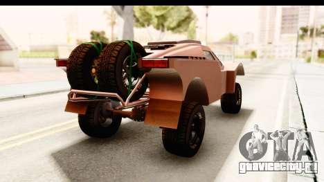 GTA 5 Desert Raid SA Lights PJ для GTA San Andreas вид сзади слева
