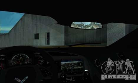 Chevrolet Corvette для GTA San Andreas вид справа