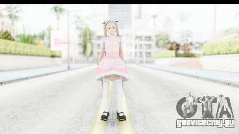 DoA 5: LR - Marie Rose Maid Remade для GTA San Andreas второй скриншот