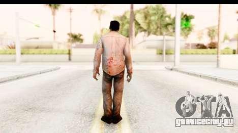 Left 4 Dead 2 - Zombie Shirt 1 для GTA San Andreas третий скриншот