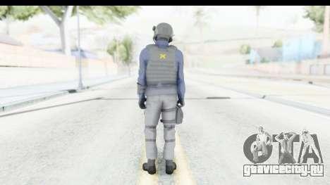 Quantum Break Monarch Operators для GTA San Andreas третий скриншот