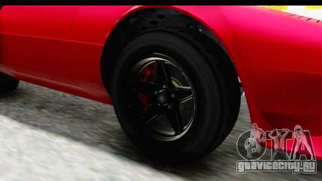 GTA 5 Lampadati Tropos IVF для GTA San Andreas вид сзади