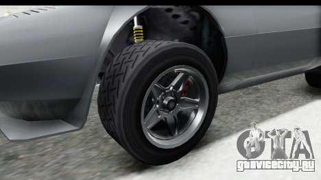 GTA 5 Lampadati Tropos Rallye для GTA San Andreas вид сзади