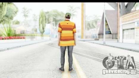 Skin Male Random 3 GTA Online для GTA San Andreas третий скриншот