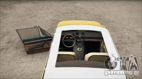 VAZ 2106 Summer для GTA San Andreas вид сзади слева