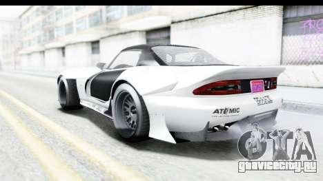 GTA 5 Bravado Banshee 900R Carbon Mip Map для GTA San Andreas вид снизу