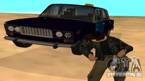 Ваз-2106 для GVR ранняя версия для GTA San Andreas вид сверху