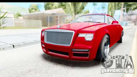 GTA 5 Enus Windsor Drop для GTA San Andreas вид справа