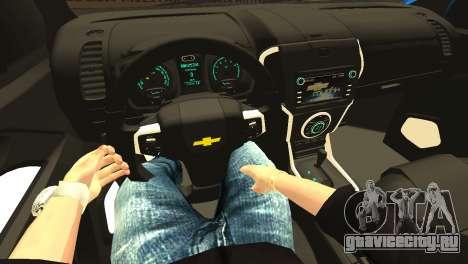 Chevrolet TrailBlazer 2015 LTZ для GTA San Andreas вид сверху