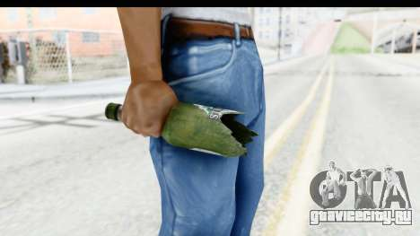 GTA 5 Broken Bottle для GTA San Andreas третий скриншот
