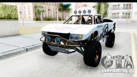 GTA 5 Trophy Truck IVF для GTA San Andreas вид снизу