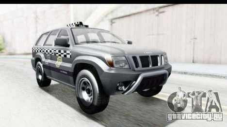 GTA 5 Canis Seminole Taxi для GTA San Andreas вид справа