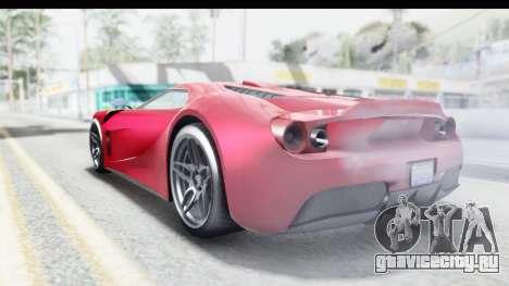 GTA 5 Vapid Bullet Face FMJ для GTA San Andreas вид слева