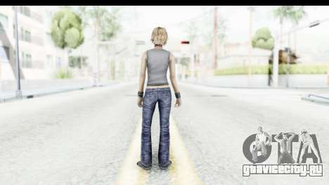 Silent Hill 3 - Heather Sporty Gray Pixel Droid для GTA San Andreas третий скриншот