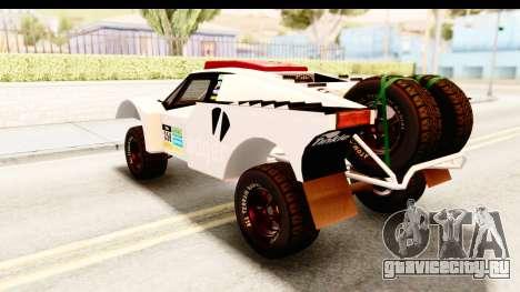 GTA 5 Desert Raid SA Lights PJ для GTA San Andreas салон