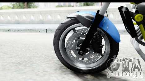 Yamaha Cage Sic для GTA San Andreas вид справа