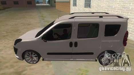 Fiat Doblo 2015 Series для GTA San Andreas вид слева
