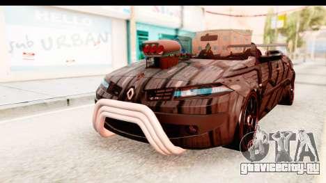 Renault Megane Spyder Full Tuning v2 для GTA San Andreas вид сзади слева