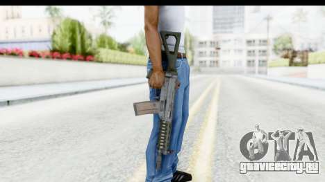 SG553 для GTA San Andreas третий скриншот