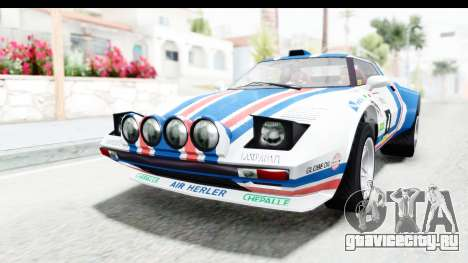 GTA 5 Lampadati Tropos Rallye для GTA San Andreas вид сбоку