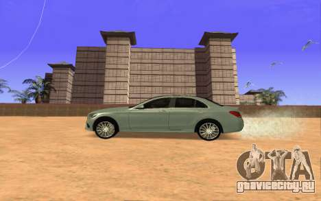 Mercedes-Benz C250 Armenian для GTA San Andreas вид слева