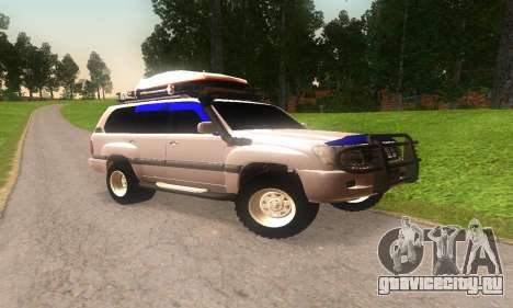 Toyota Land Cruiser 100 для GTA San Andreas