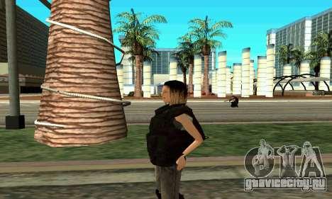 Женщина-тренер SWAT для GTA San Andreas четвёртый скриншот