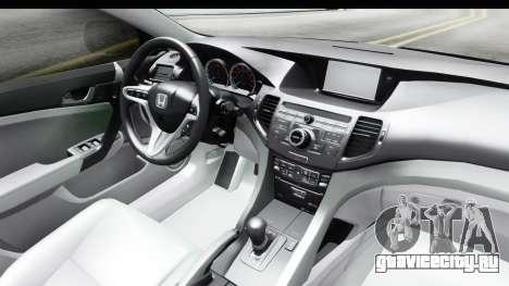 Honda Accord 2010 JDM для GTA San Andreas вид сбоку