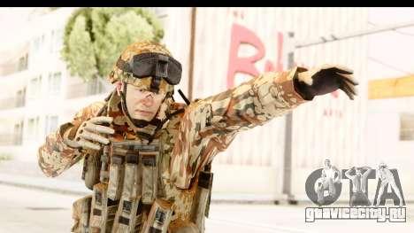 Danish Soldier для GTA San Andreas