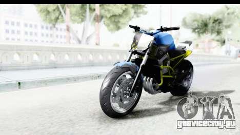 Yamaha Cage Sic для GTA San Andreas вид сзади слева