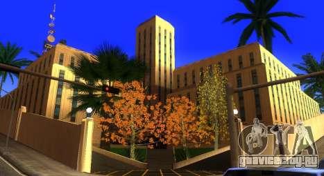 Новые текстуры скейт-парка и госпиталя для GTA San Andreas шестой скриншот