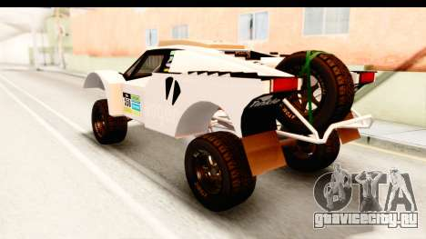 GTA 5 Desert Raid IVF PJ для GTA San Andreas салон