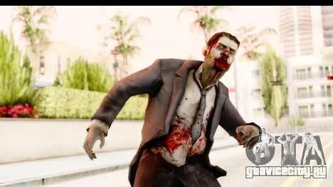Left 4 Dead 2 - Zombie Suit для GTA San Andreas