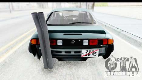 Nissan Silvia S14 Low and Slow для GTA San Andreas вид сбоку