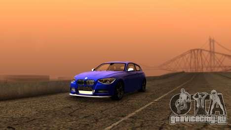 BMW M135i ISlaite Edition для GTA San Andreas