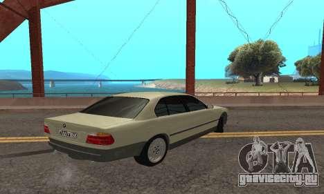 BMW 730 для GTA San Andreas вид справа