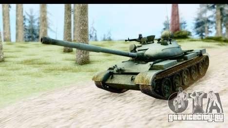 T-62 Wood Camo v1 для GTA San Andreas