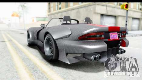 GTA 5 Bravado Banshee 900R Carbon Mip Map для GTA San Andreas вид слева