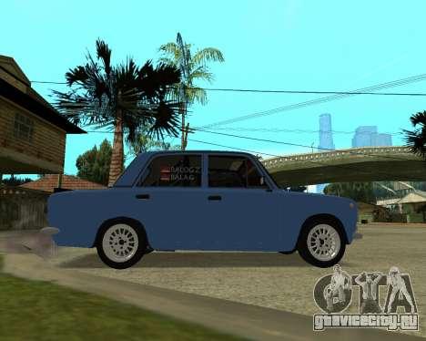 ВАЗ 2101 Армения для GTA San Andreas вид сзади слева