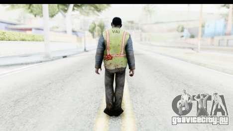 Left 4 Dead 2 - Zombie Baggage Handler для GTA San Andreas третий скриншот