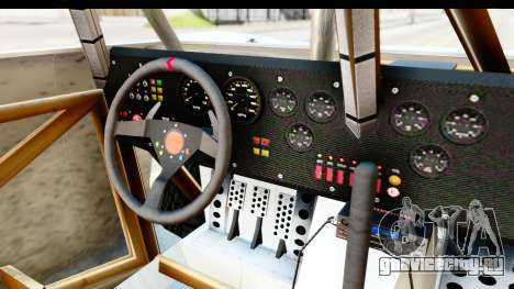 GTA 5 Trophy Truck IVF для GTA San Andreas вид изнутри
